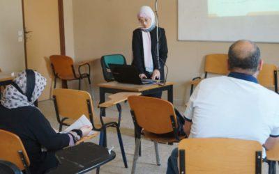 كلية الصحه العامه تناقش مقترحات رسائل الماجستير لطلبة الدراسات العليا